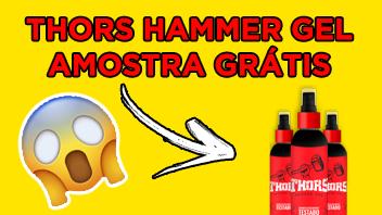 Amostra GRÁTIS THOR Hammer GEL!